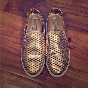 Steve Madden Zeena Slip-On Sneaker Rose Gold